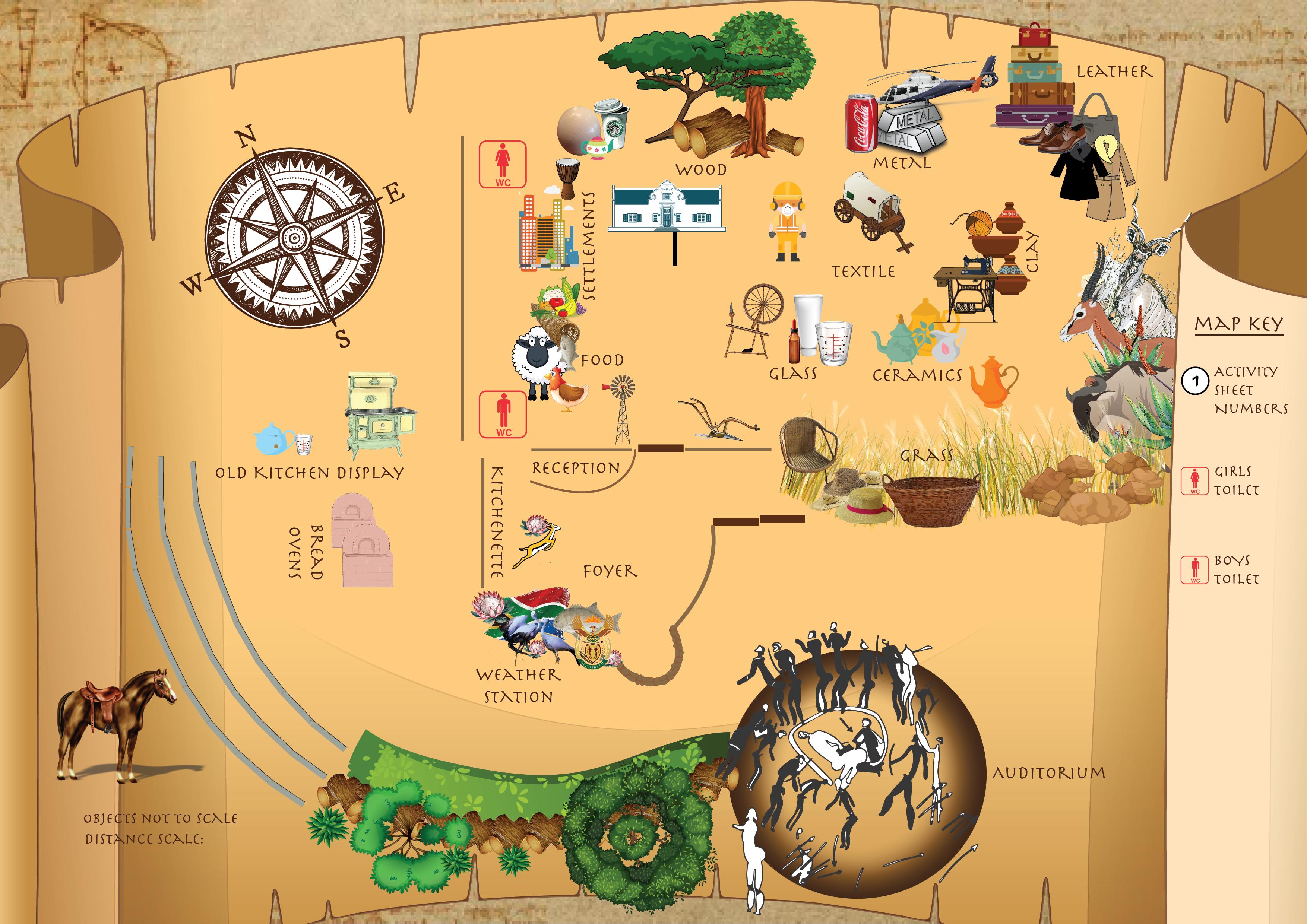 FUNDA DISCOVERY CENTRE INTERACTIVE MAP